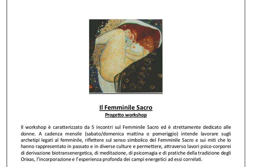 Il femminile Sacro