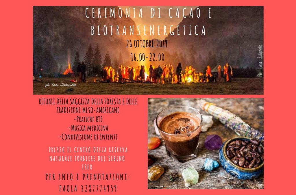 Cerimonia del Cacao e Biotransenergetica